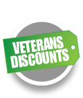 Icon for Lowe's and Home Depot Veterans discounts
