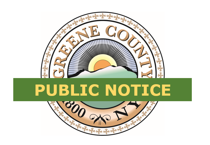 Notice of Public Hearing – Tax Exemption Proposition