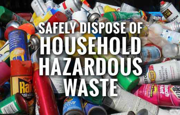 Household Hazardous Waste Collection – Saturday, June 30th