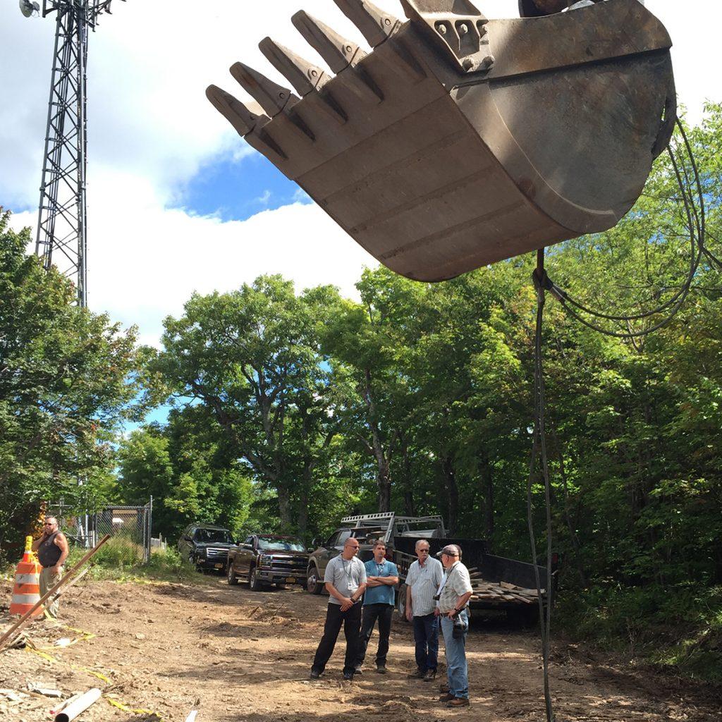 Greene County NY 911 Service Tower at Hunter Mountain