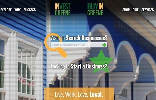 Greene County Launches Improved Website for Buy In Greene – Invest In Greene Initiative