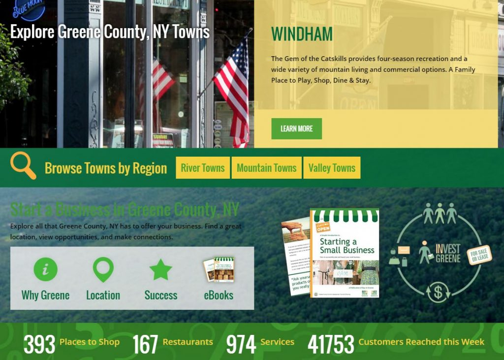 website town pages on buy in greene county ny
