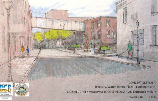 Village of Catskill to Break Ground Catskill Creek Walking Loop