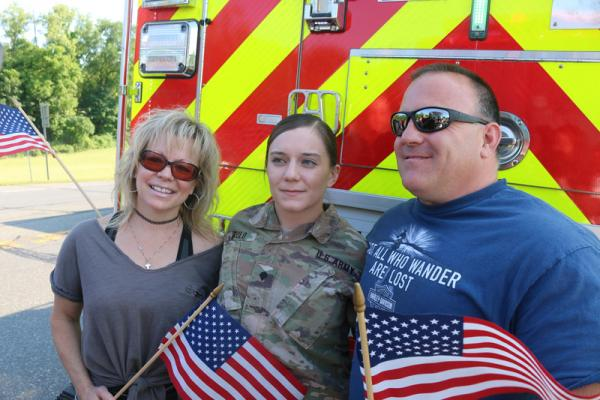 Palenville Soldier Returns from 9 month deployment in Afghanistan