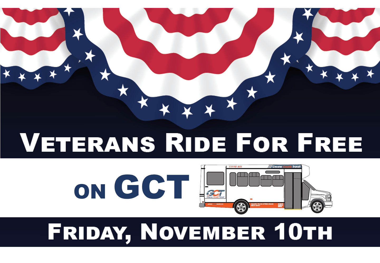 Greene County Transit Thanks Veterans with Free Rides