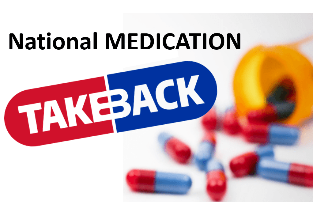 Medication Take Back Day April 28, 2018