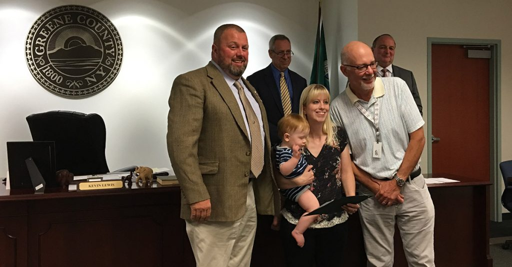 Amy Block Greene County Employee of the Year