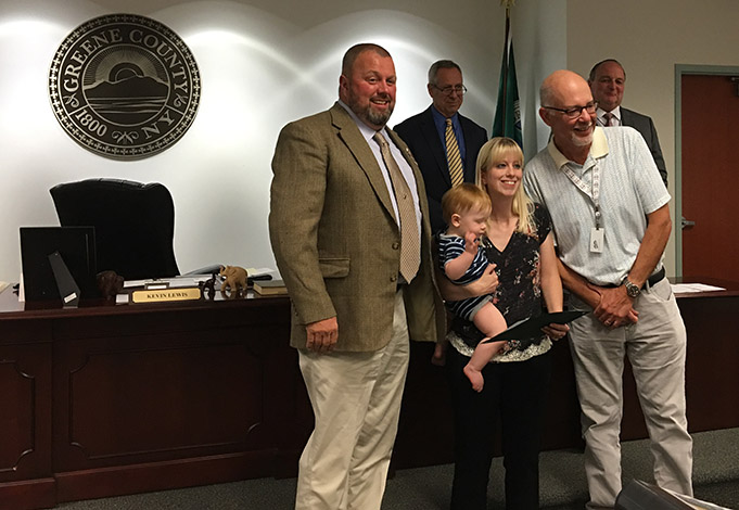 Employees Honored by Greene County Legislature