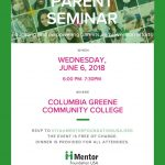 Parent Seminar June 6
