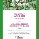 Parent Seminar June 6