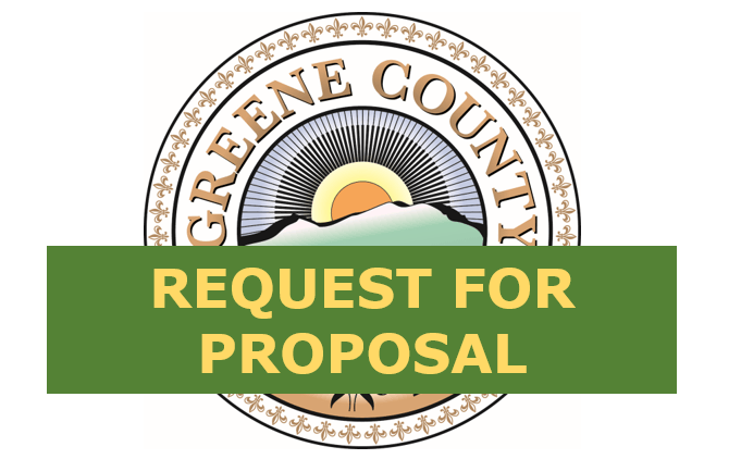 Legal Notice – Addendum RFP Commissioning Services for New Greene County Jail Facility