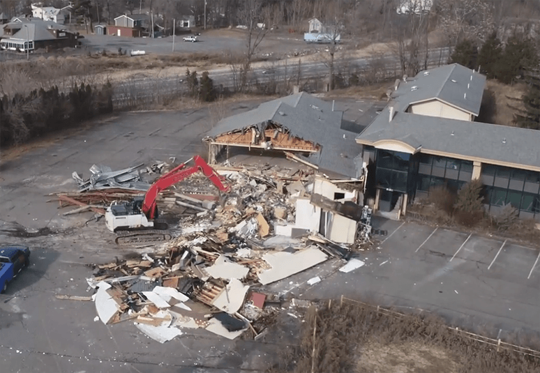 Exit 21 Catskill Hotel Property Demolition Complete