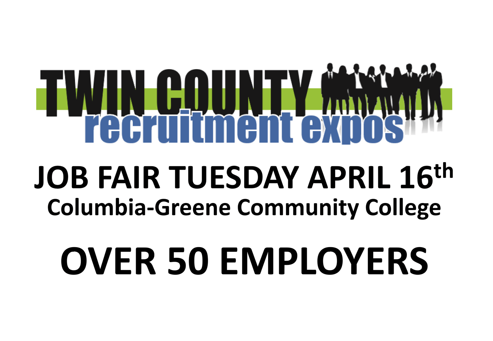 Job Fair at C-GCC Tuesday April 16th