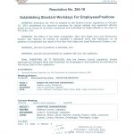 Resolution Establishing Standard Workday For Employees-Positions – For Retirement Purposes_Page_1
