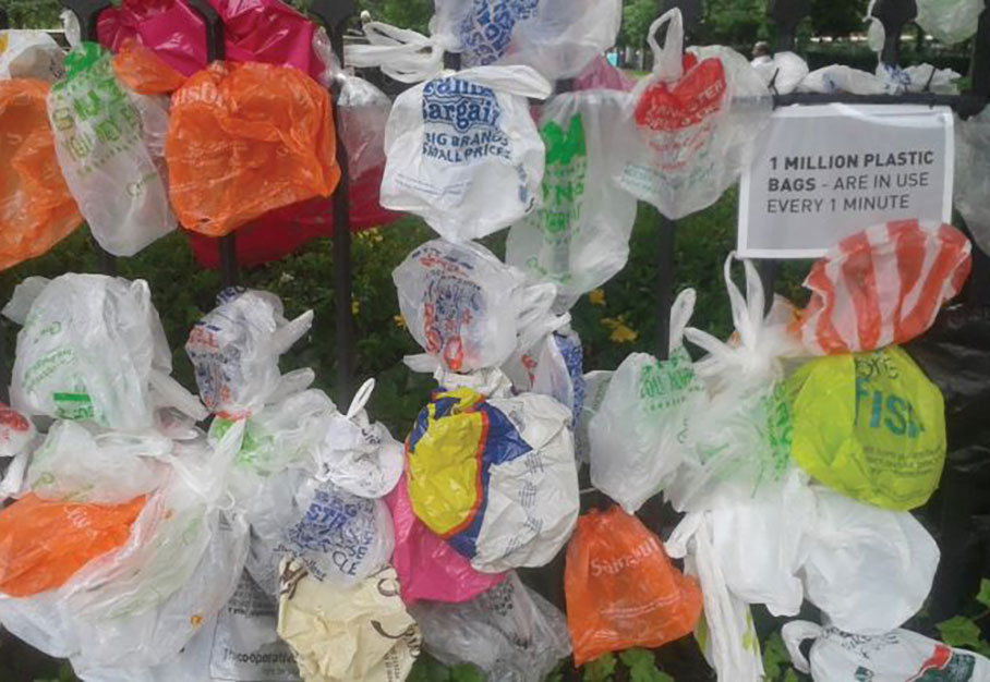 NYS-Mandated Ban on Single-Use Plastic Bags begins on March 1, 2020