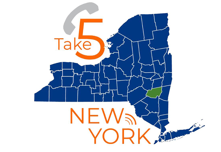 Greene County Launches Local Take 5 For NY