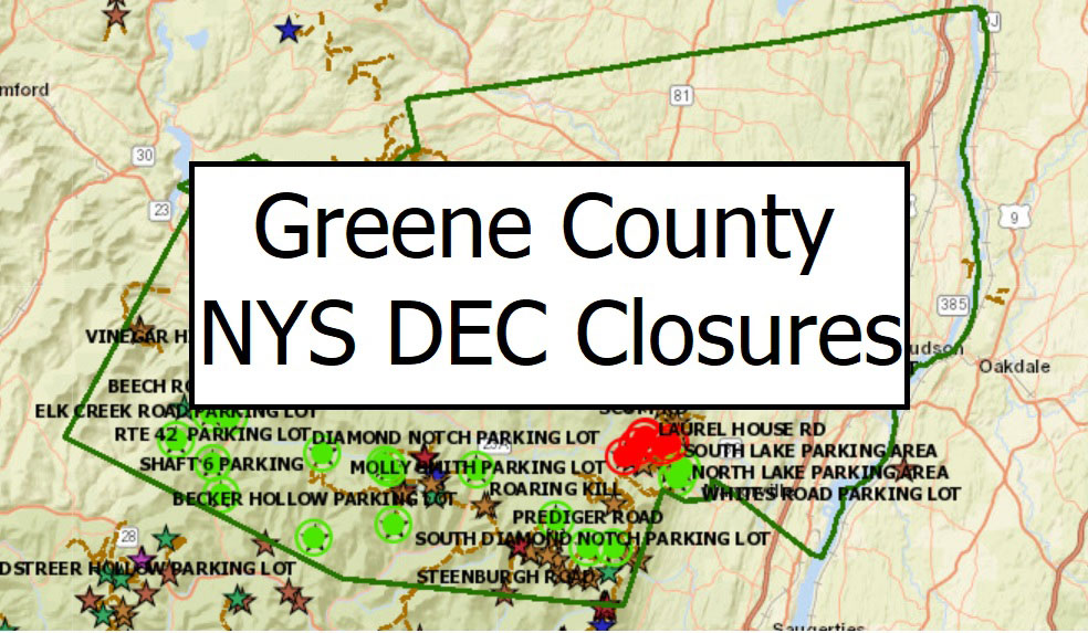 Greene County NYS DEC Closures