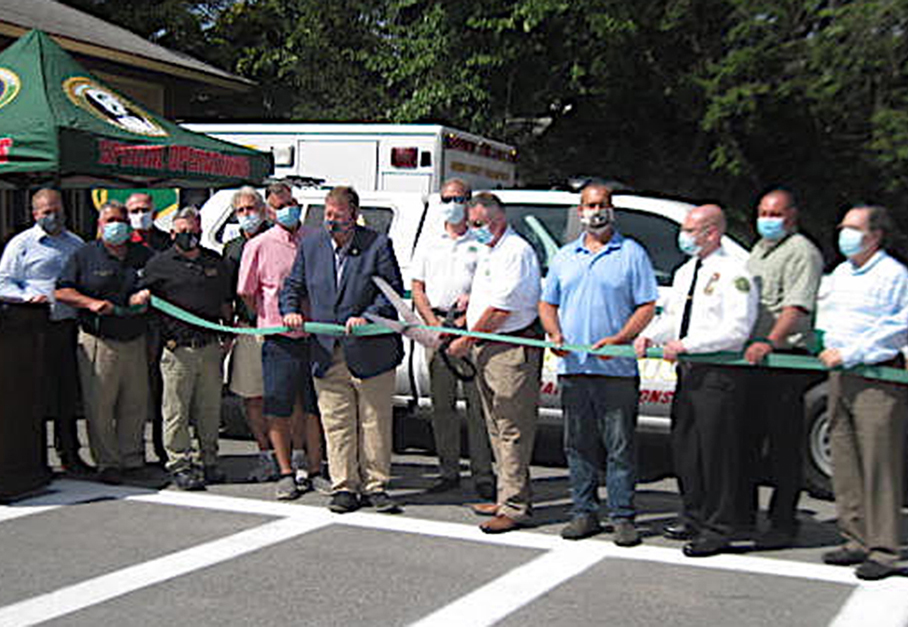 New GCES Substation and Fly-Car Put into Service – Paramedics Honored for 20 Years of Service