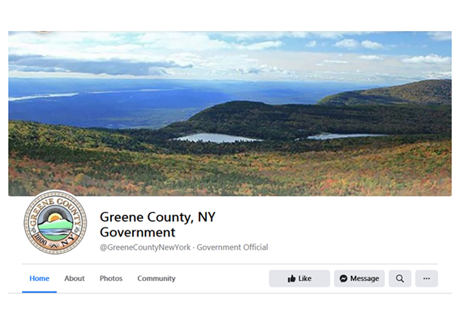 Greene County Launches New Facebook Page