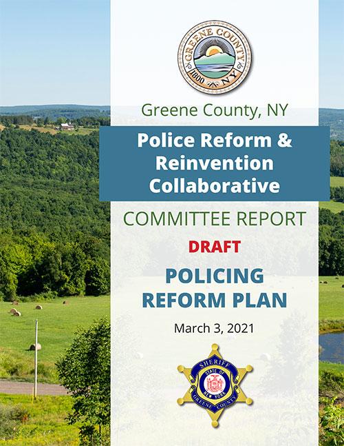 Policing Reform Plan