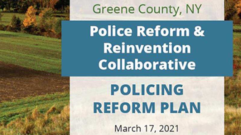 Greene County Legislature Unanimously Adopts GCSO Policing Reform Plan