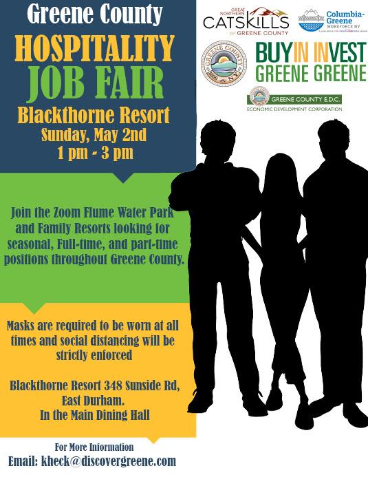 Hospitality Job Fair on Sunday, May 2nd – Employers Hiring!