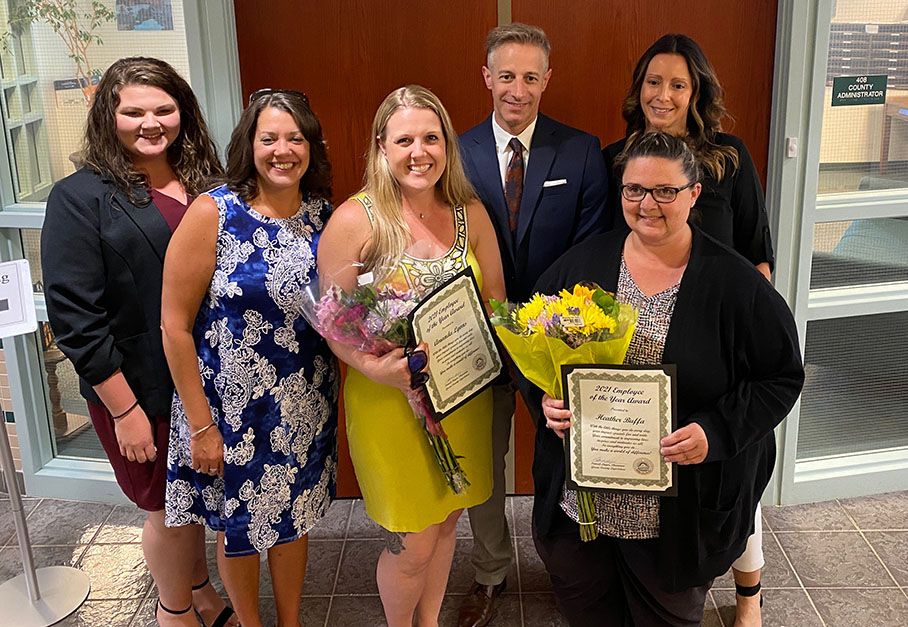 Greene County Legislature 2021 Exceptional Service Awards