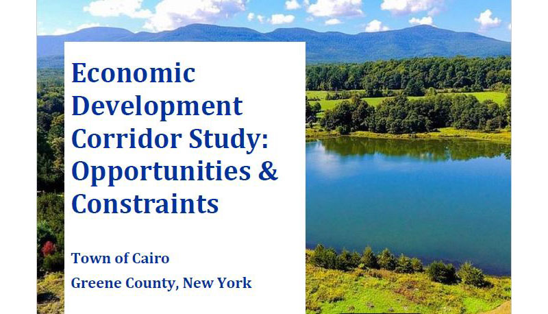Greene County Releases Economic Development Study and Greene County Legislature Announces Investment in Infrastructure Development to Support Business Attraction and Job Growth